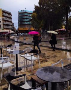 Heraklion-Rain